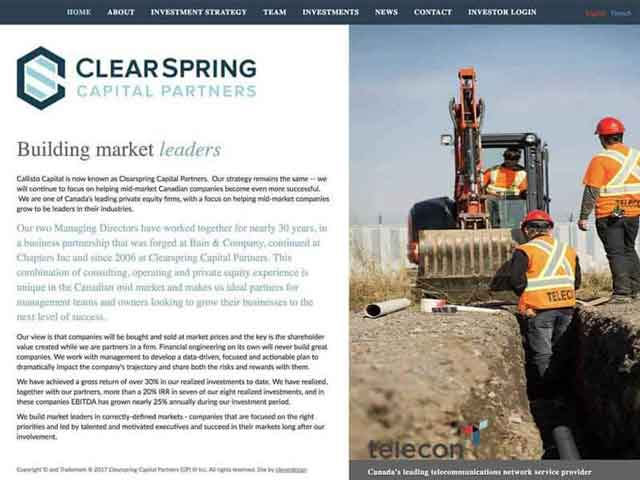 Clearspring Capital Partners